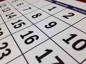 カレンダーの日曜始まりの理由は?月曜始まりの理由は?