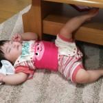 子供の寝相が悪い 対策は?なぜなの?寝冷えも心配…!
