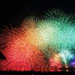 川崎市制記念多摩川花火大会へのアクセスと見える場所は?